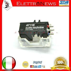 Testina AT11 AT11E Audio-Technica Dual Magnet Cartridge AT11 Diamond Stylus 7mil