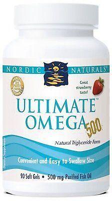 Nordic Naturals Ultimate Omega 500 Strawberry For Sale Online Ebay