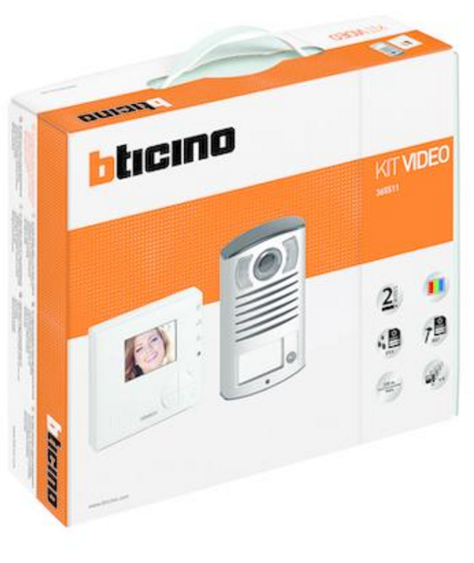 BTICINO 365511 KIT SPEAKERPHONE SINGLE FAMILY WITH VIDEO DOOR-PHONE 100V12B LINE