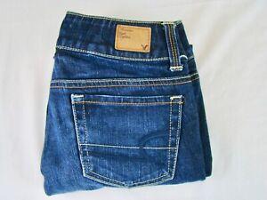 AMERICAN-EAGLE-Women-039-s-Artist-Stretch-Dark-Wash-Cropped-Capri-Jeans-Size-00