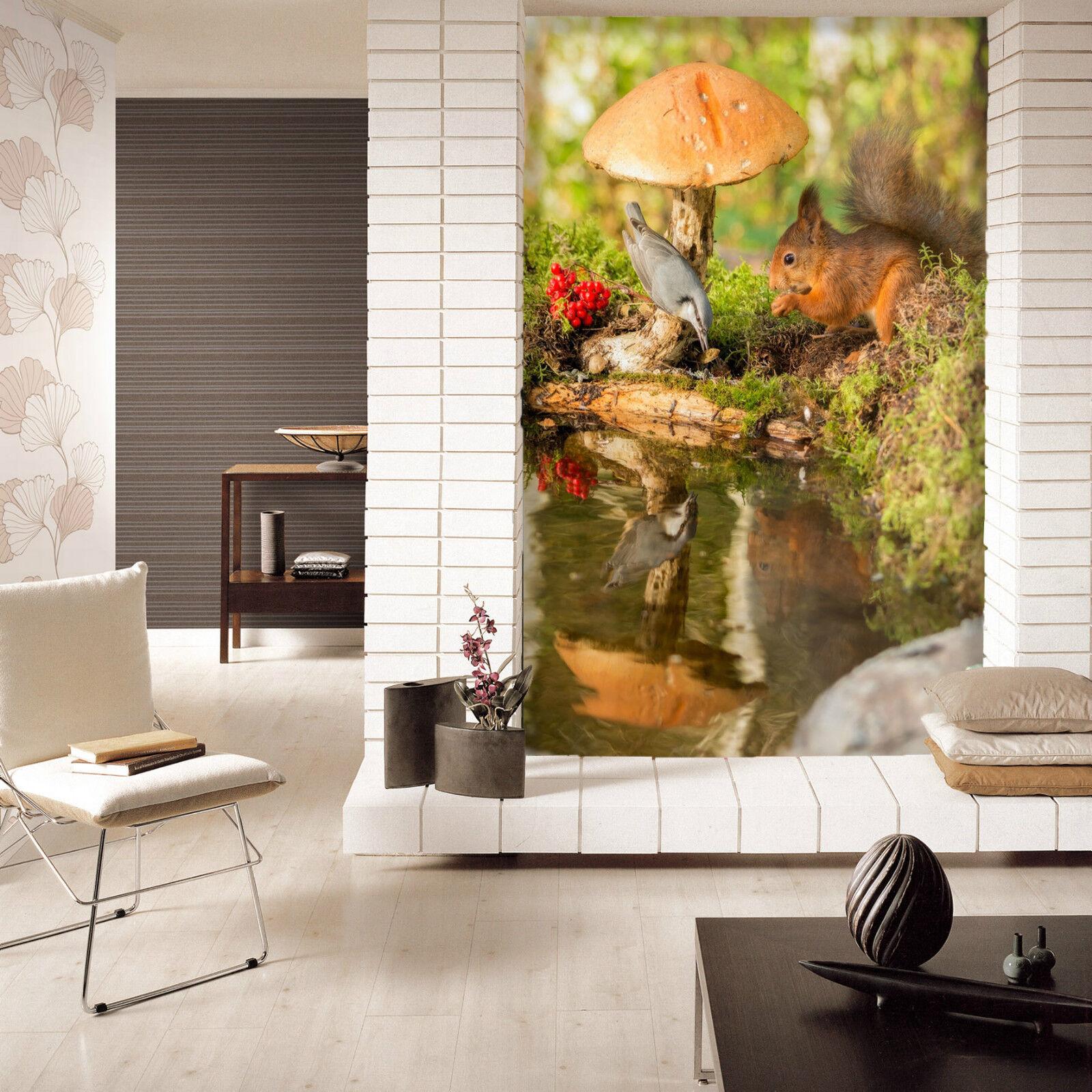 3D fungo 436 Parete Murale Foto Carta da parati immagine sfondo muro stampa