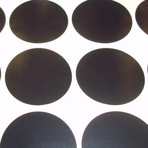 300-Schwarz-6mm-0-6cm-Farbe-Code-Punkte-Runde-Aufkleber-Klebend-Id-Etikett