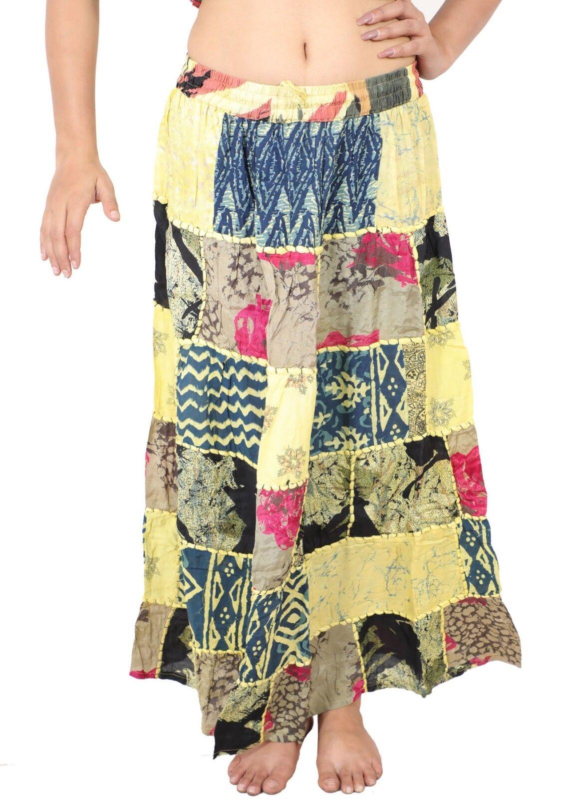 Le donne di boho coprono la gonna di toppa delle donne gujarati 5Pcs all'ingross