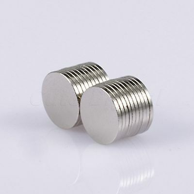 20×N50 Super Strong Round Cylinder Magnet Rare Earth Neodymium Slice Disc 10X1mm