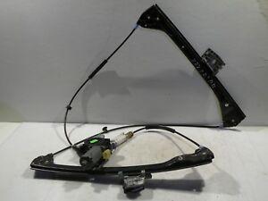 BMW-E46-323-2000-RHD-Coupe-Delantero-Derecho-Ventana-LEVANTADOR-regulador-motor-amp-mecanismo