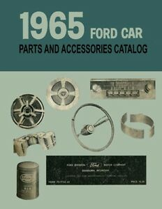 1965-Ford-Car-Part-Numbers-Book-List-Guide-Catalog-Interchange-Illustrations
