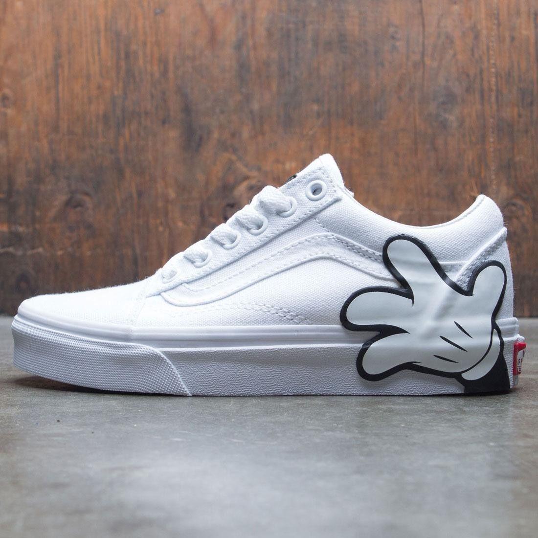 Vans Old Skool Disney Mickey True bianca Skate scarpe Uomo Uomo Uomo 3.5 Donna  5 131308