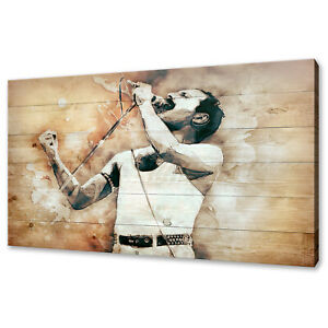 Freddie Mercury Queen Modern canvas print picture wall art free fast delivery