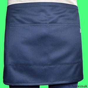 Waitress Aprons Half Size with 2 Pockets  for café pub restaurant good quality
