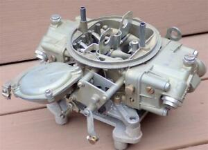 Vintage Holley 950 CFM 3 Barrel Carburetor 3916-1S True Muscle Car Race Carb WOW
