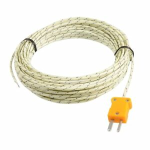 50-250-Celsius-K-Typ-10M-Kabel-Temperatursensor-Thermoelement-Sonde-B4D3-B6C4