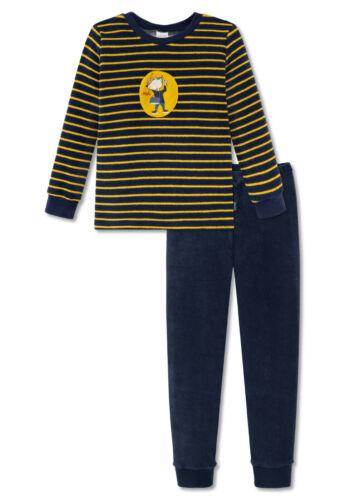 Garçons Pyjama éponge Pyjama Henry Long 104 116 128 Schiesser Lingerie de nuit