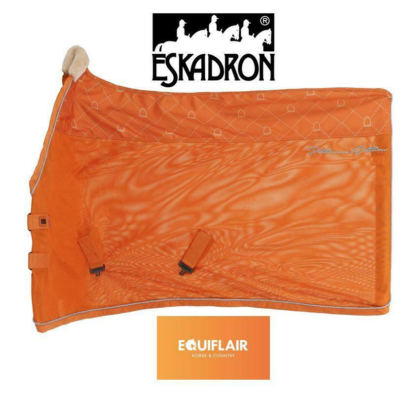 Eskadron Platinum AW19 Pro Cover Fly Rug   Sweat Rug
