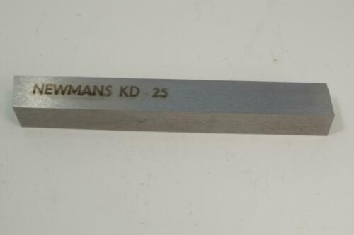 """3 New Old Stock Newmans Canada HSS 1//2/""""  Square x 4/"""" Tool Bit Cutter Blank"""