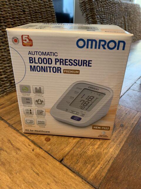 Omron HEM 6232T Wrist Blood Pressure Monitor (Black