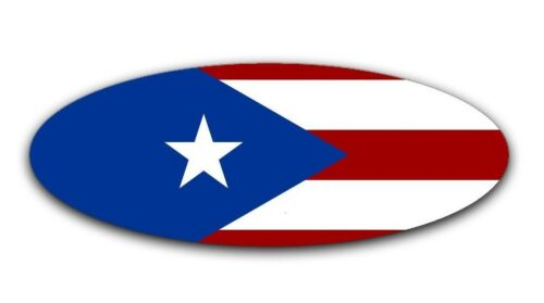 Puerto Rico Flag Overlay Decal for 2015-2018 Ford F-150 Emblem Front and Rear