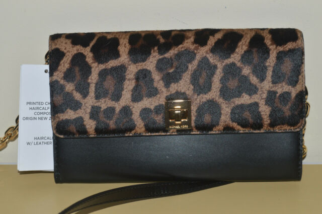 710aa8fc80cf norway michael michael kors jet set large cheetah print calf hair crossbody  bag neiman marcus b2bdd 1638e; closeout michael kors natalie xl wallet on a  ...