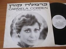 LP - CARMELA CORREN - THE SUN WILL SHINE TOMORROW - DEDICACE - PRIVATE PRESS