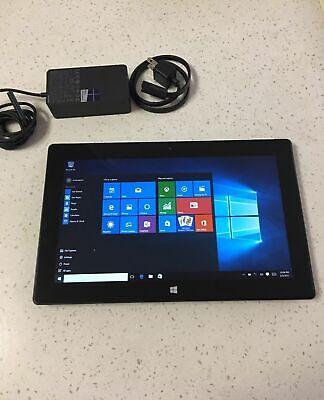 """Microsoft Surface PRO 2 i5-4300U 128GB 4GB RAM  Wi-Fi 10.6/"""" WINS10Pro Tablet#CM1"""