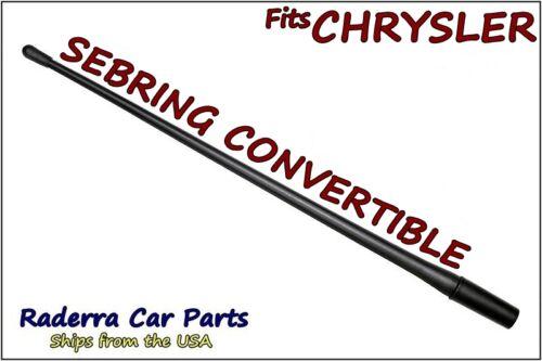 "2001-2006 Chrysler Sebring Conv 13/"" SHORT Flexible Rubber Antenna Mast FITS"