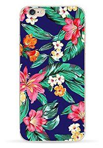 Coque-souple-avec-impression-Fantaisie-Fleurs-pour-iPhone-5-5S