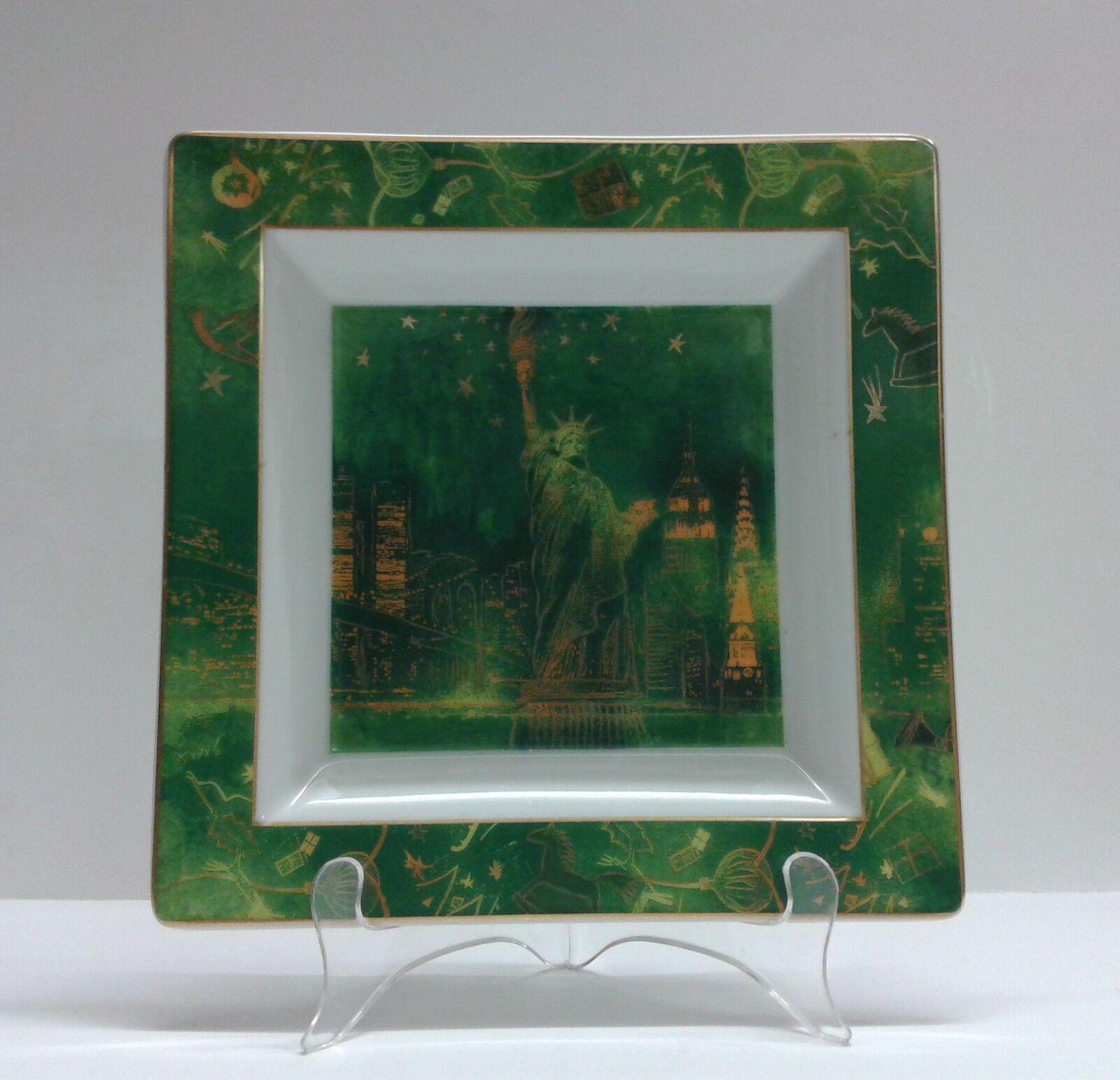 Rosanthal Studio Studio Studio Line, Weihnachten in NEW YORK, Schale quadratisch 22 cm 4dbc6b