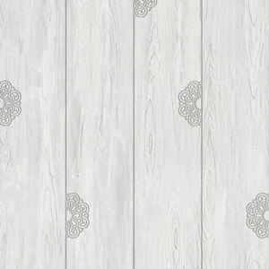 Gray wood self adhesive wallpaper prepasted home decor for Pre adhesive wallpaper