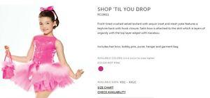 Revolution Dancewear Shop Till you Drop, Large Child