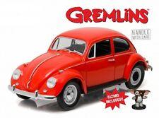 GREMLINS 1967 VOLKSWAGEN BEETLE 1:18 SCALE DIECAST MODEL WITH GIZMO FIGURE