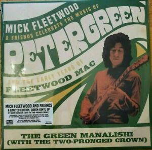 MICK FLEETWOOD & FRIENDS Green Manalishi NEW vinyl LP BMG LE 3000 RSD2020