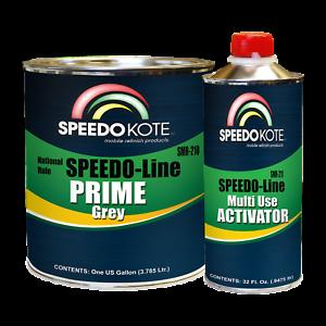 Speedokote High Build 2K Urethane Primer Gray Gallon Kit, SMR-210/211-K
