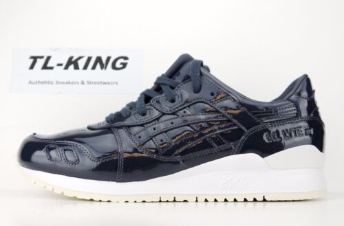 Asics Gel Lyte III 3 Patent Leather India Ink Date Night Navy H7H1L 5858 $110 HA