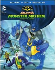 BATMAN : MONSTER MAYHEM (DC animated) -  Blu Ray - Sealed Region free