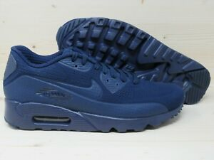 Details about Nike Air Max 90 Ultra Moire Sneakers New Midnight Navy Blue 819477 400 MENS 8.5