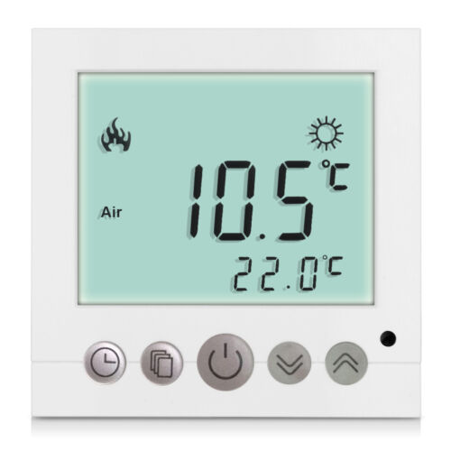 1-20 PCS 16A Digital LCD Thermostat Raumthermostat Fußbodenheizung Raumregler