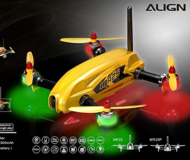 Yellow MR25 V2 Racing Quad Combo