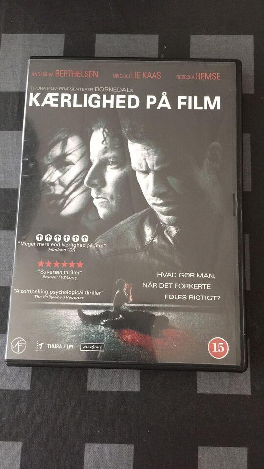 KÆRLIGHED PÅ FILM, instruktør Ole Bornedal, DVD