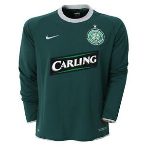 NOUVEAU-Nike-Celtic-Football-Club-2007-2008-maillot-manche-longue-exterieur