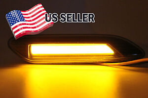 Smoke-LED-Turn-Signal-Lights-Side-Marker-Lamp-For-Mini-Cooper-Countryman-Paceman