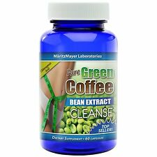 Pure Green Coffee Bean Extract Cleanse 800mg capsules Detox Diet Weight Loss