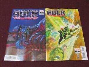 Immortal Hulk #39 Lot of 2 Standard /& Bennett Spoiler Variant