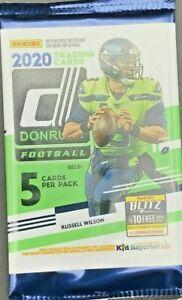 2020 Panini Donruss NFL American Football 1x GRAVITY Box PACK *SEALED* - NEW