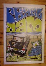 PEARL JAM - Newcastle, Australia 2006 Poster by DAYMON GREULICH *RAR