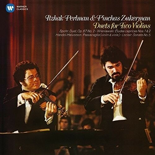 Itzhak Perlman, Pinc - Duets for Two Violins [New CD]