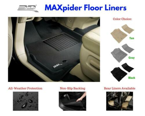 3D Maxpider Kagu Floor Mats Liners All Weather For Buick Lacrosse 2010-2016