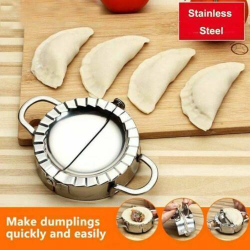Stainless Steel Eco-Friendly Pastry Tool Dumpling Maker Wraper Dough Cutter Kit.