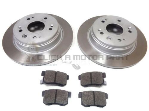 for HONDA FRV FR-V 1.7i 1.8i 2.0i VTEC 2.2i CTDi 04-10 REAR 2 BRAKE DISCS /& PADS