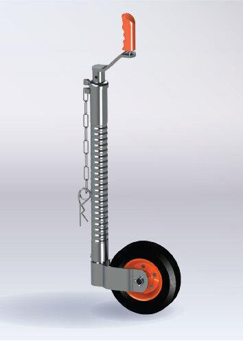 KARTT 48mm Serrated Jockey Wheel Premium Quality Heavy Duty