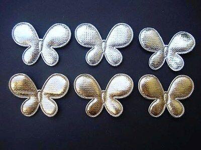 "50 Light Sheer Organza Flower 1.75/"" Applique Trim//Craft//Sewing//Tulle H149"