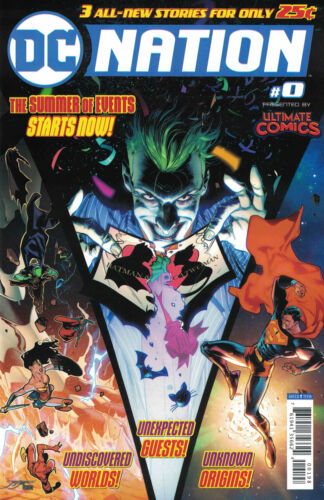 DC Nation #0 Presented By Ultimate Comics Exclusive Store Variant 2018